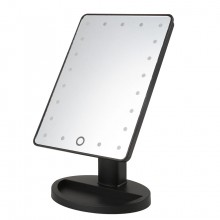 Косметическое зеркало с подсветкой Large Led Mirror  XR-1608-2 черное